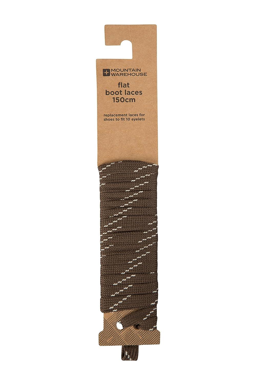 Mountain Warehouse Flat Fleck Boot Laces - 150cm Hiking Shoe Laces