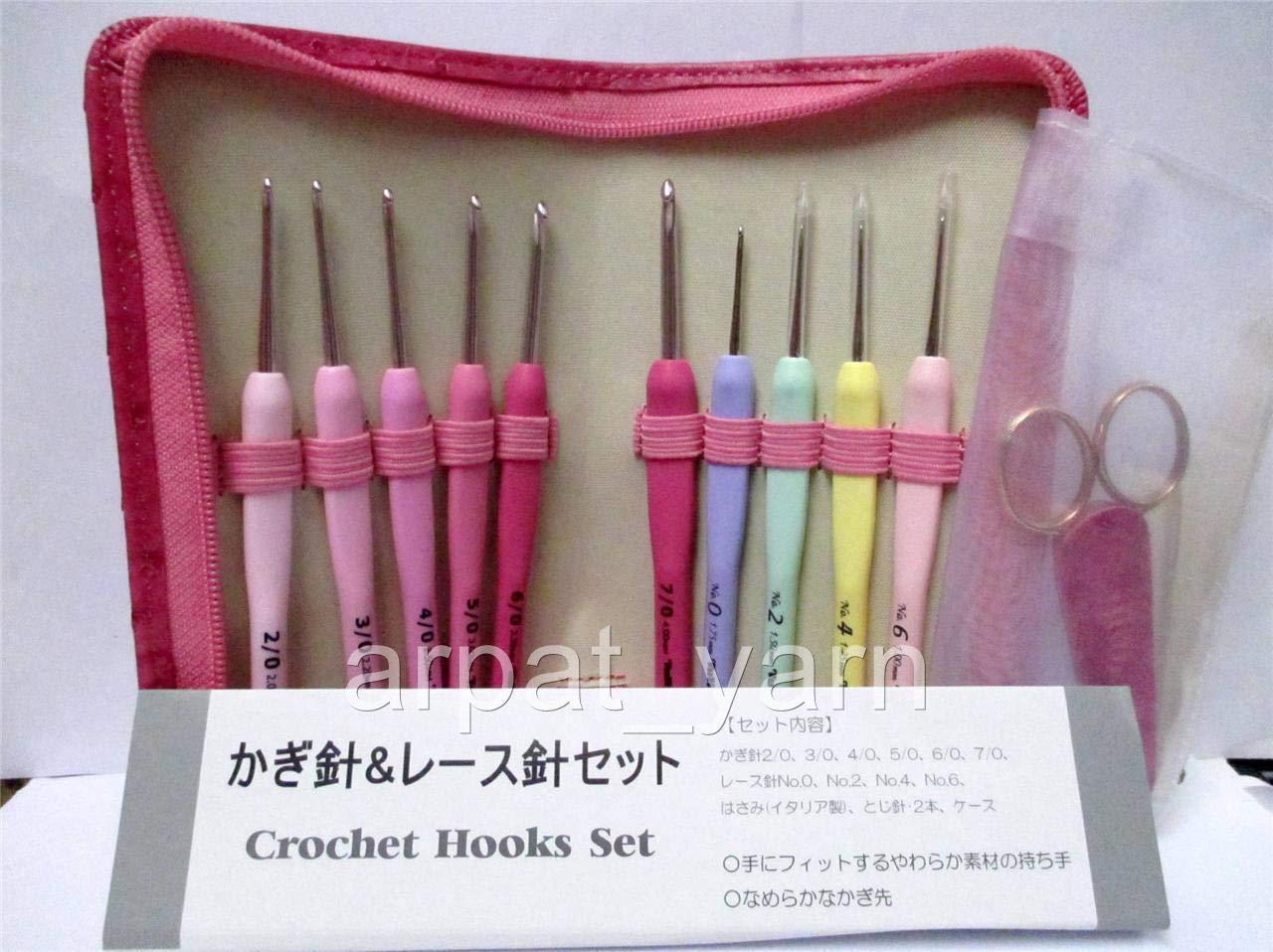 FidgetFidget 1mm-4mm ETIMO Rose Lace Set 10 Crochet Hooks Special Edition by FidgetFidget (Image #1)