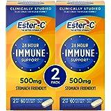 Ester-C Vitamin C, 500mg Tablets, 60-Count Bottles (Pack of 2)