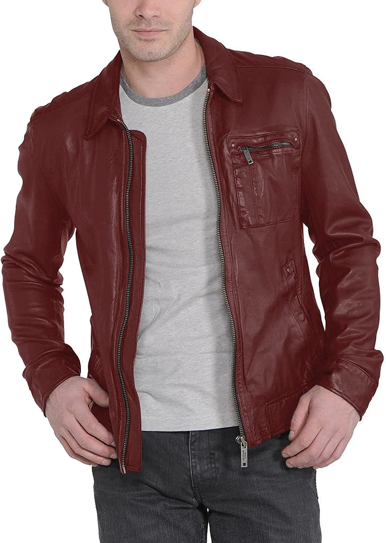 1501221 Black, Aviator Jacket Laverapelle Mens Genuine Lambskin Leather Jacket