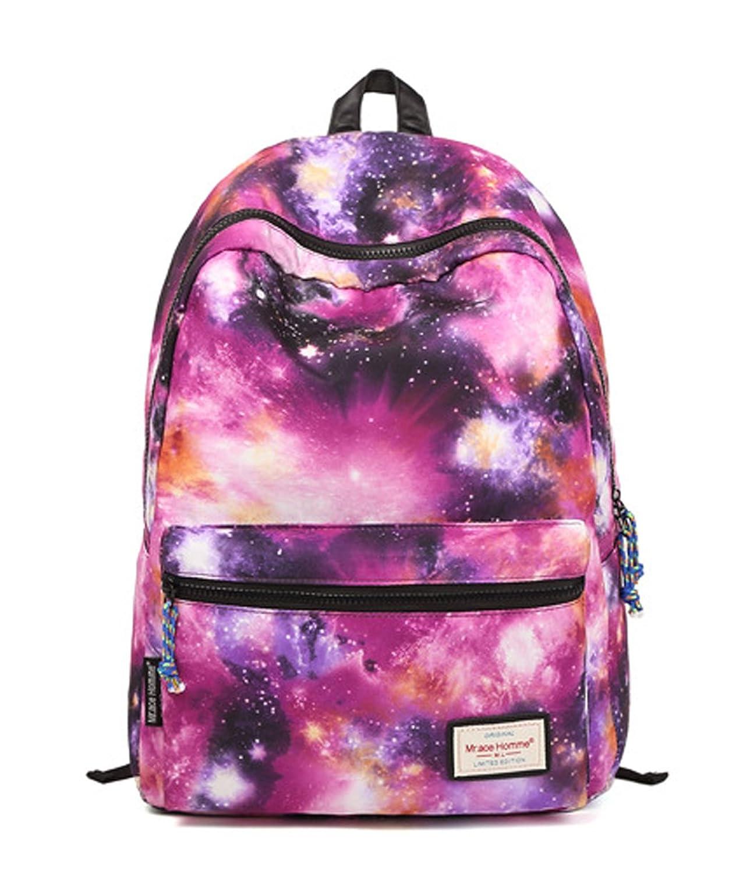 Longzibog Nylon Fashion Backpack Bag, Fashion Cute Lightweight Backpacks for Teen Young Girls