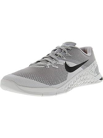 929b8a904d78 Amazon.com  Nike Men s Metcon 4 Training Shoe ATMOSPHERE GREY BLACK-VAST  GREY 7.5  Nike  Clothing