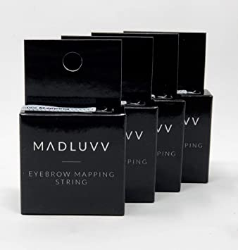 Best Brow Mapping Pre- Inked String For Microblading (4 Pack) Ink Mapping on