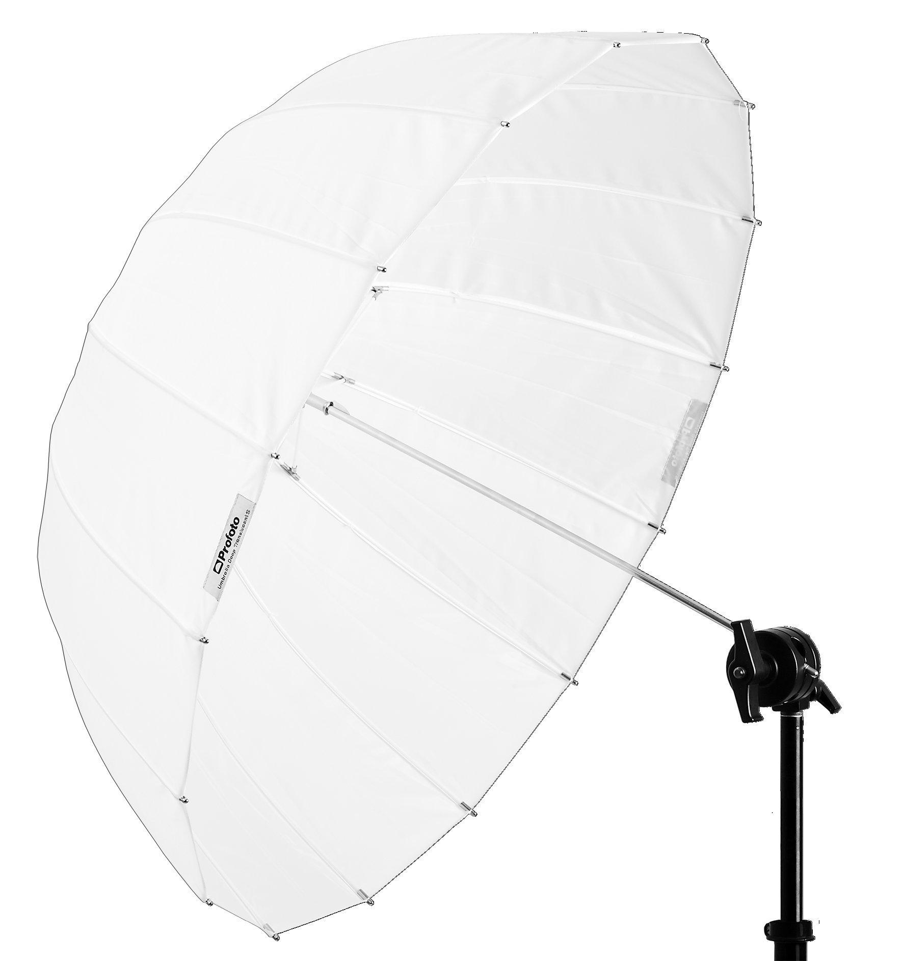 Profoto Deep and Parabolic 33'' Umbrella, Small, Translucent