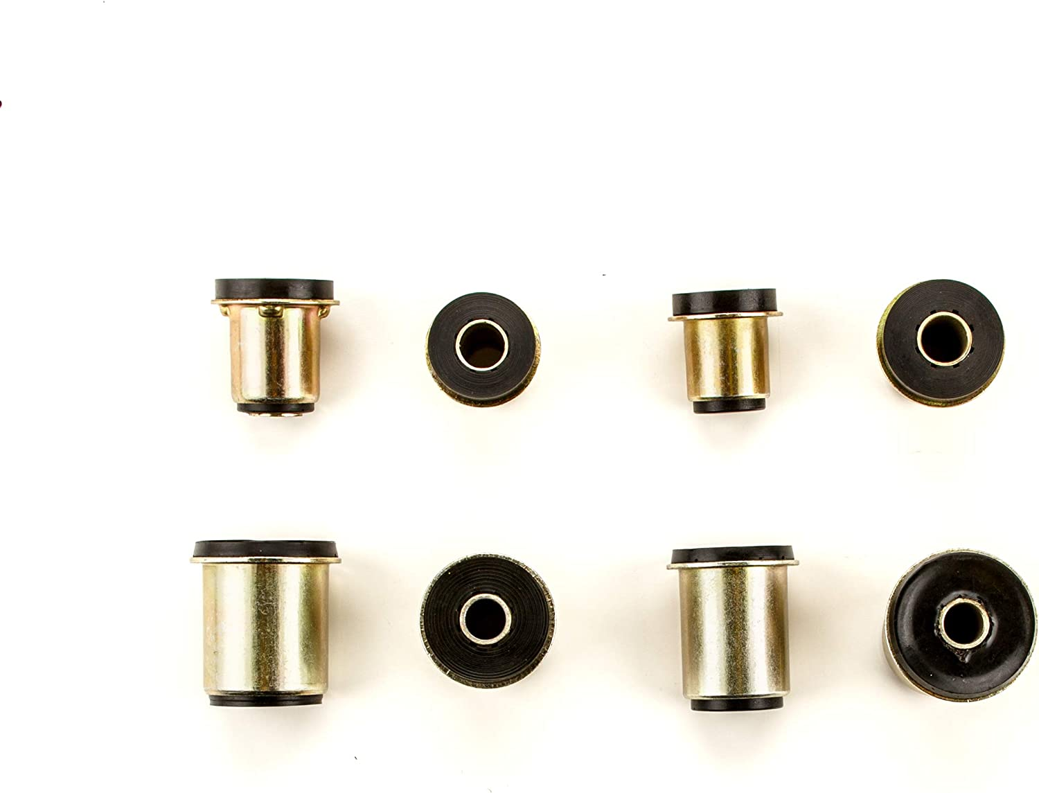 8 Piece Kit Andersen Restorations Black Polyurethane Control Arm Bushings Set Compatible with Chevrolet Camaro OEM Spec Replacements