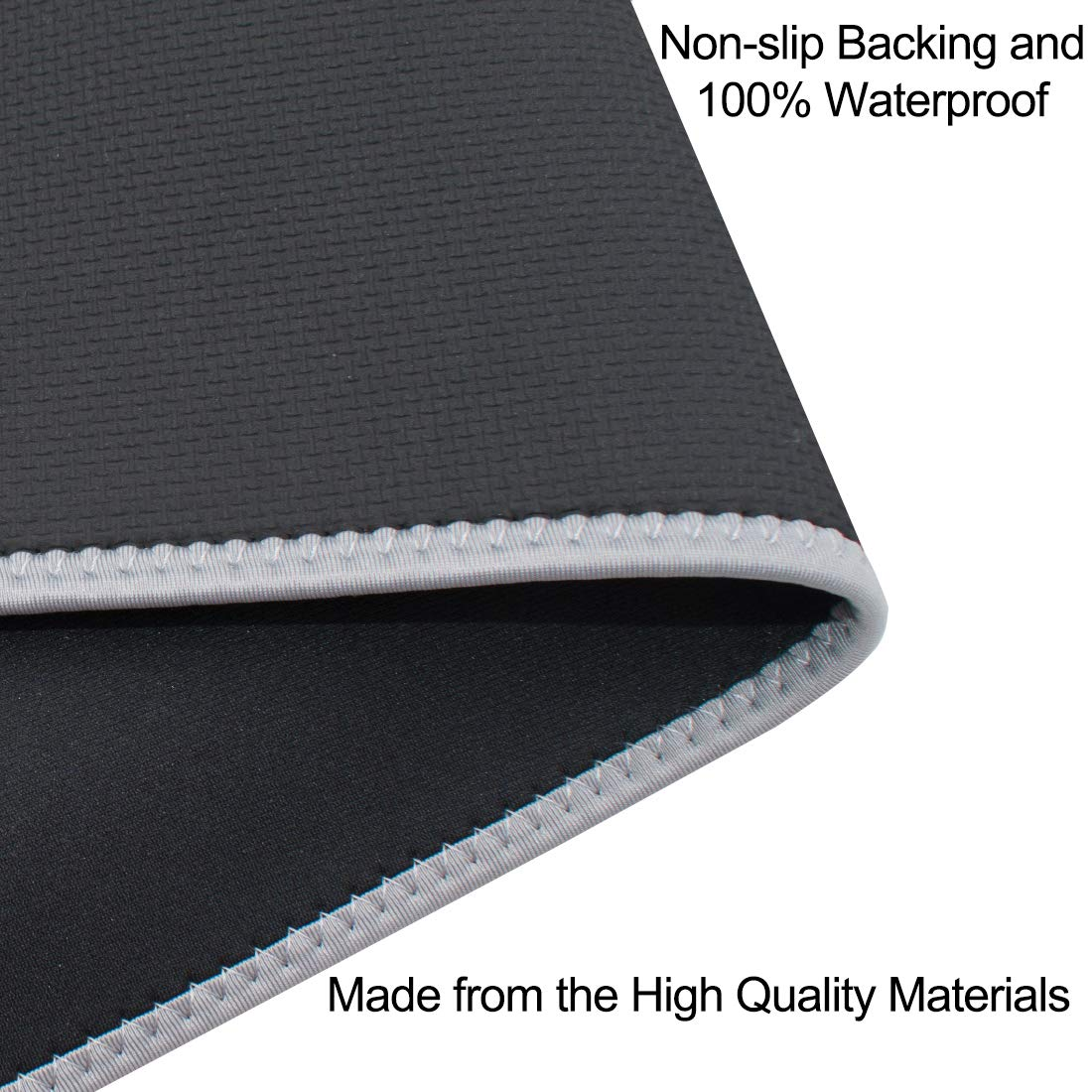 SEIUCAN Car Seat Cover, Non-Slip Breathable Waterproof Neoprene Pet Car Seat Protector Universal Fit Most Vehicles Seats