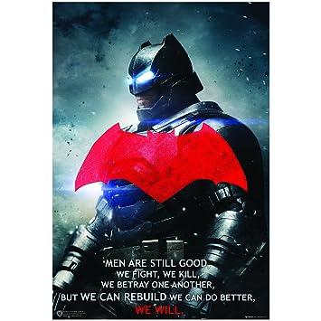 BATMAN VS SUPERMAN MOVIE POSTER MAIN FILM A4 A3 ART PRINT CINEMA