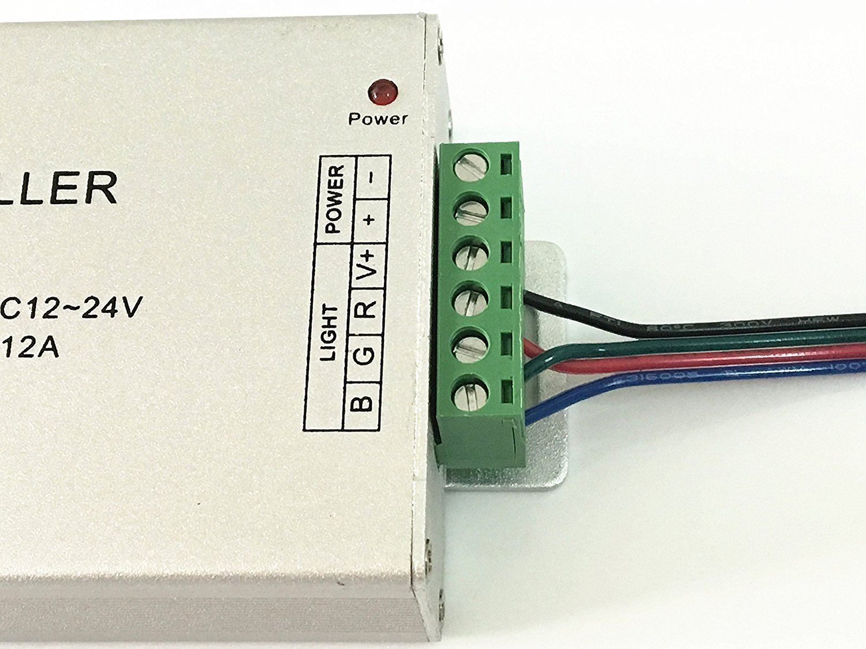 alargador para LED RGB de 30/cm Hpowerbow 2/packs de cables Y de 1/a 2,/Distribuci/ón de conector 6/Pin