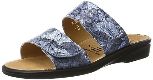 Sonnica-E, Zuecos para Mujer, Pantalon de Mezclilla (Jeans), 40 EU Ganter