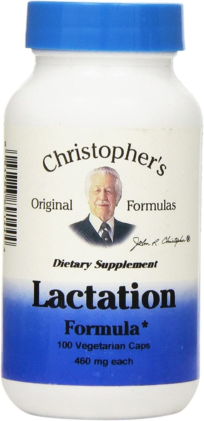 Dr Christopher's Lactation Formula Capsules 100 ct. (Pack of 2)