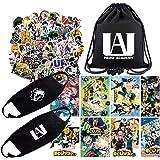 My Hero Academia Gift Set for Fans, 1Pack My Hero Academia Drawstring Bag Backpack| 73Pcs Anime My Hero Academia…
