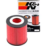 K&N Premium Oil Filter: Designed to Protect your Engine: Fits Select FORD/MAZDA/MERCURY Vehicle Models (See Product…