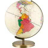 "12.6"" Inch (32cm) Large Premium Antique Desktop World Earth Globe"