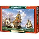Castorland - Puzzle 3000 pièces - Vessels : La bataille de Trafalgar