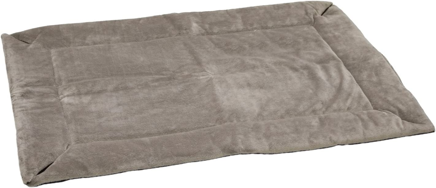 K&H Pet Products Self-Warming Crate Pad Gray X-Small 14 X 22 Inches : Pet Bed Mats : Pet Supplies