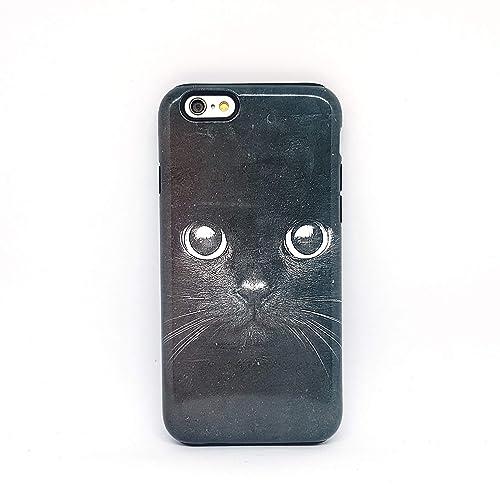 cover per iphone 6 gatto nero