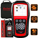 Autel AutoLink AL619 OBD2 Scanner, ABS, SRS Airbag Scan Tool, Turn Off ABS, Airbag Warning Lights, Ready Test, Advanced Ver.