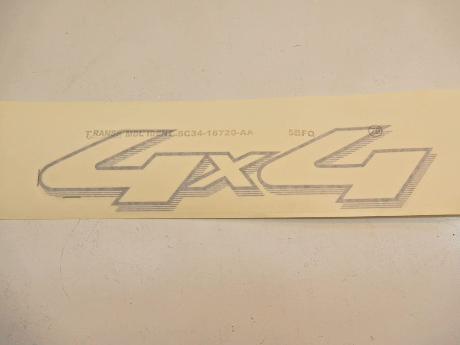 Genuine Ford 5C3Z-9925622-AAA Name Plate Decal