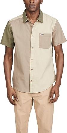 RVCA Camisa de Manga Corta para Hombre: Amazon.es: Ropa y accesorios