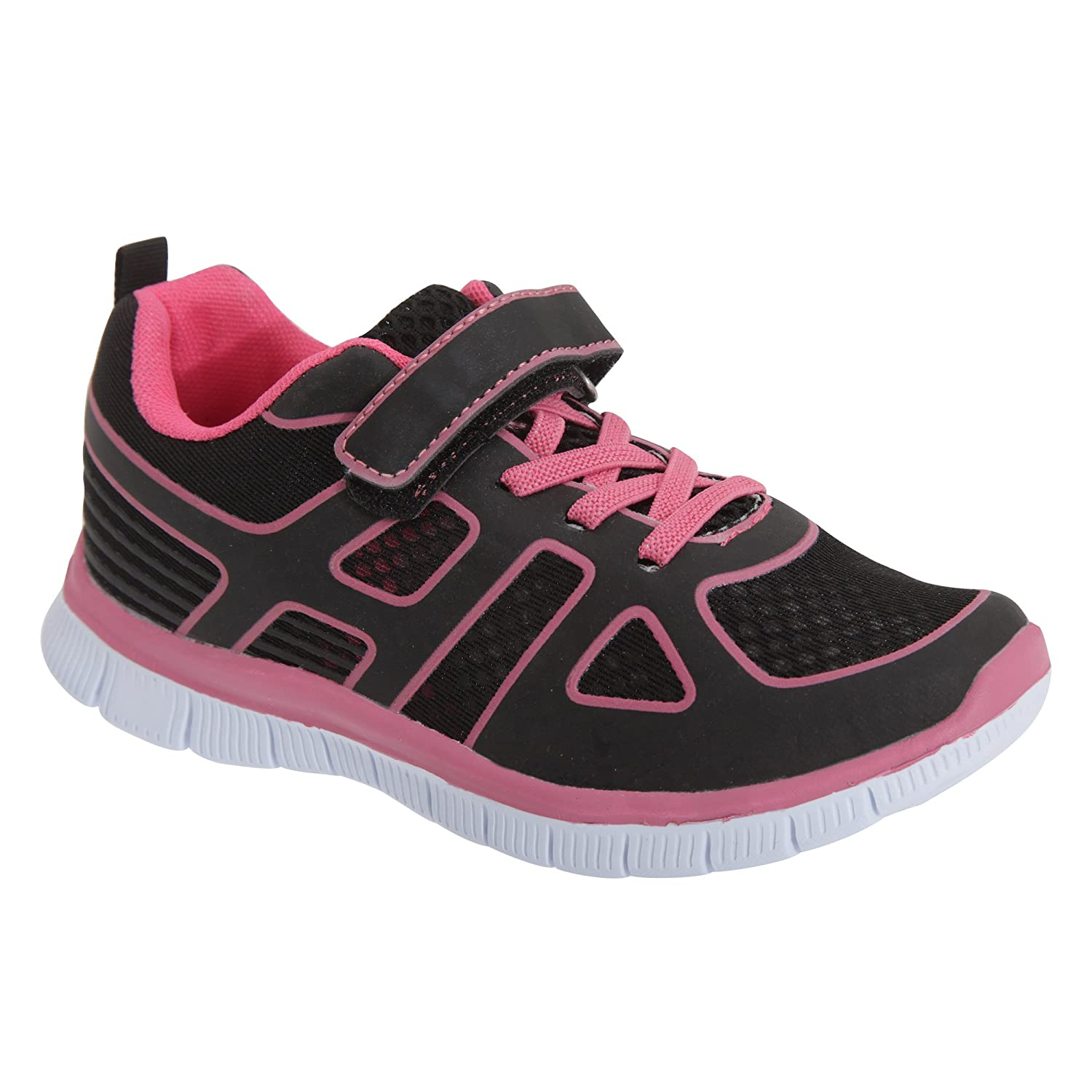 Dek Childrens/Kids Glow Lite Touch Fastening and Elasticated Lace Trainers