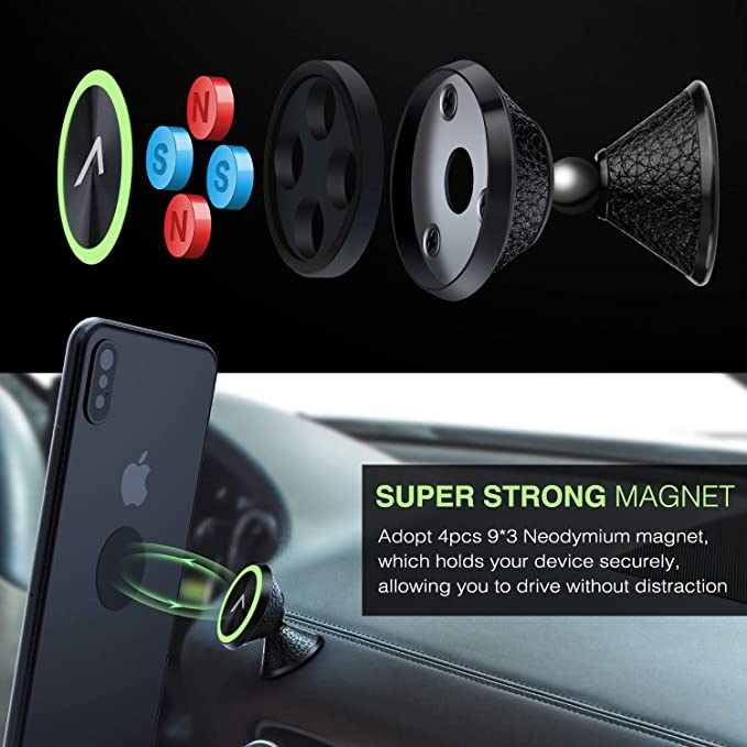 Mobile Phone Holders & Stands Cellphones & Telecommunications Cheap Sale Car Phone Holder Magnetic Air Vent Mount Mobile Smartphone Stand Magnet Support Cell Cellphone Telephone Desk In Car Holder Gps Exquisite Craftsmanship;