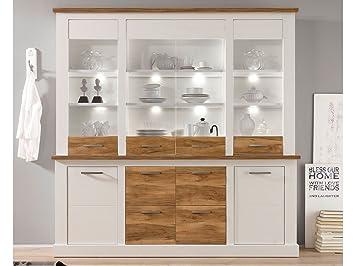 buffet de cocina de buf armario de cocina aparador mueble de vitrinas de cristal - Aparadores De Cocina