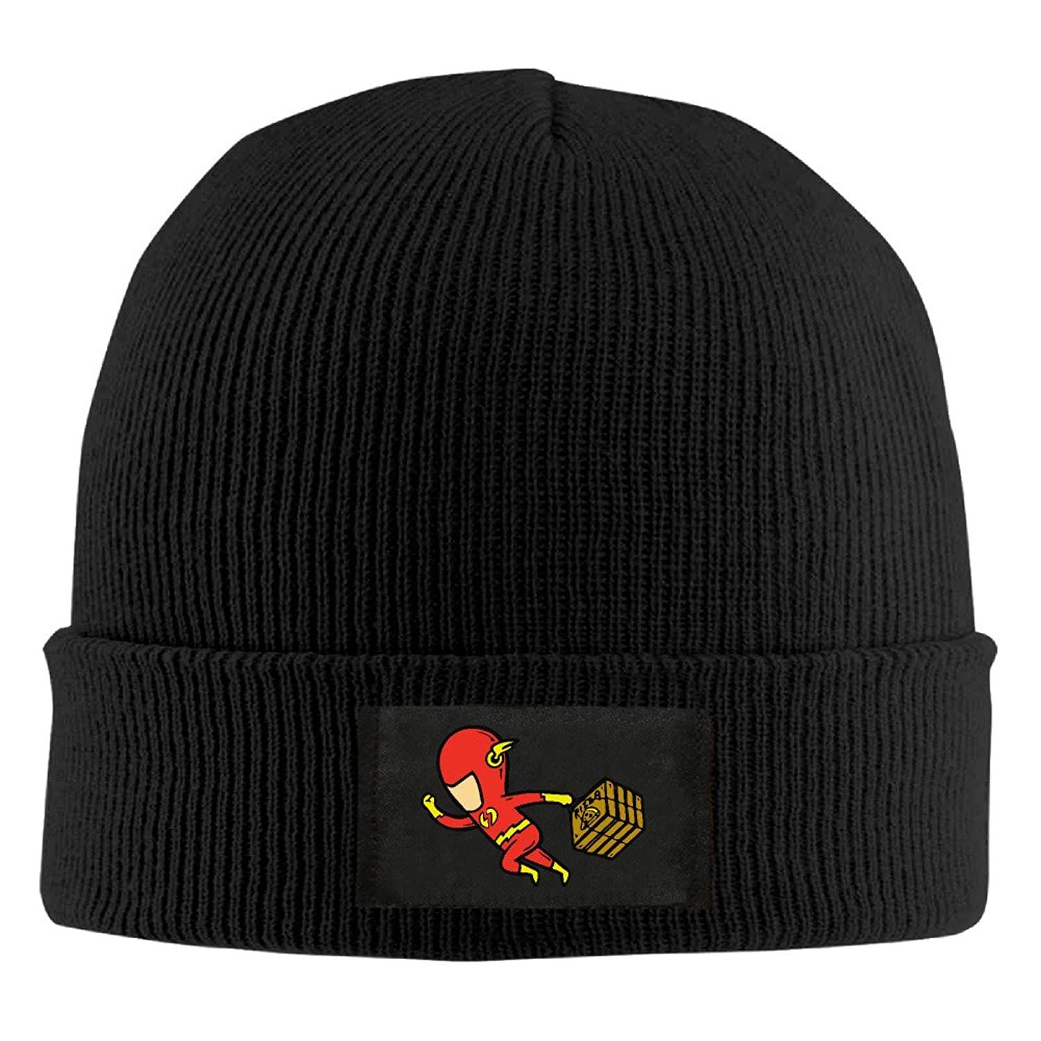 YFLLAY The Flash Messenger Knit Cap Woolen Hat For Unisex