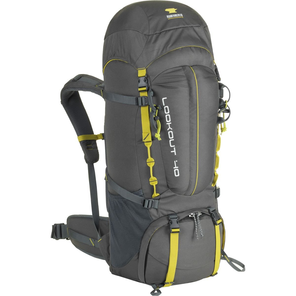 Mountainsmith Lookout 40lバックパック One Size グレー(Asphalt Grey) B071P6WS28