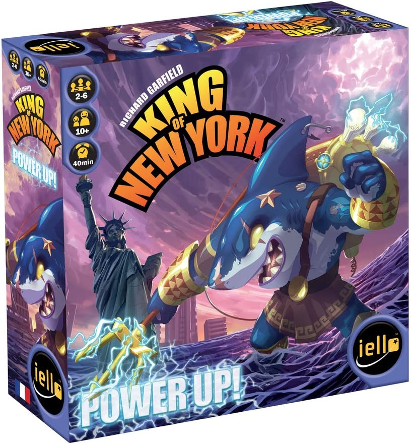 Amazon Com Iello King Of New York Power Up Board Game Toys Games