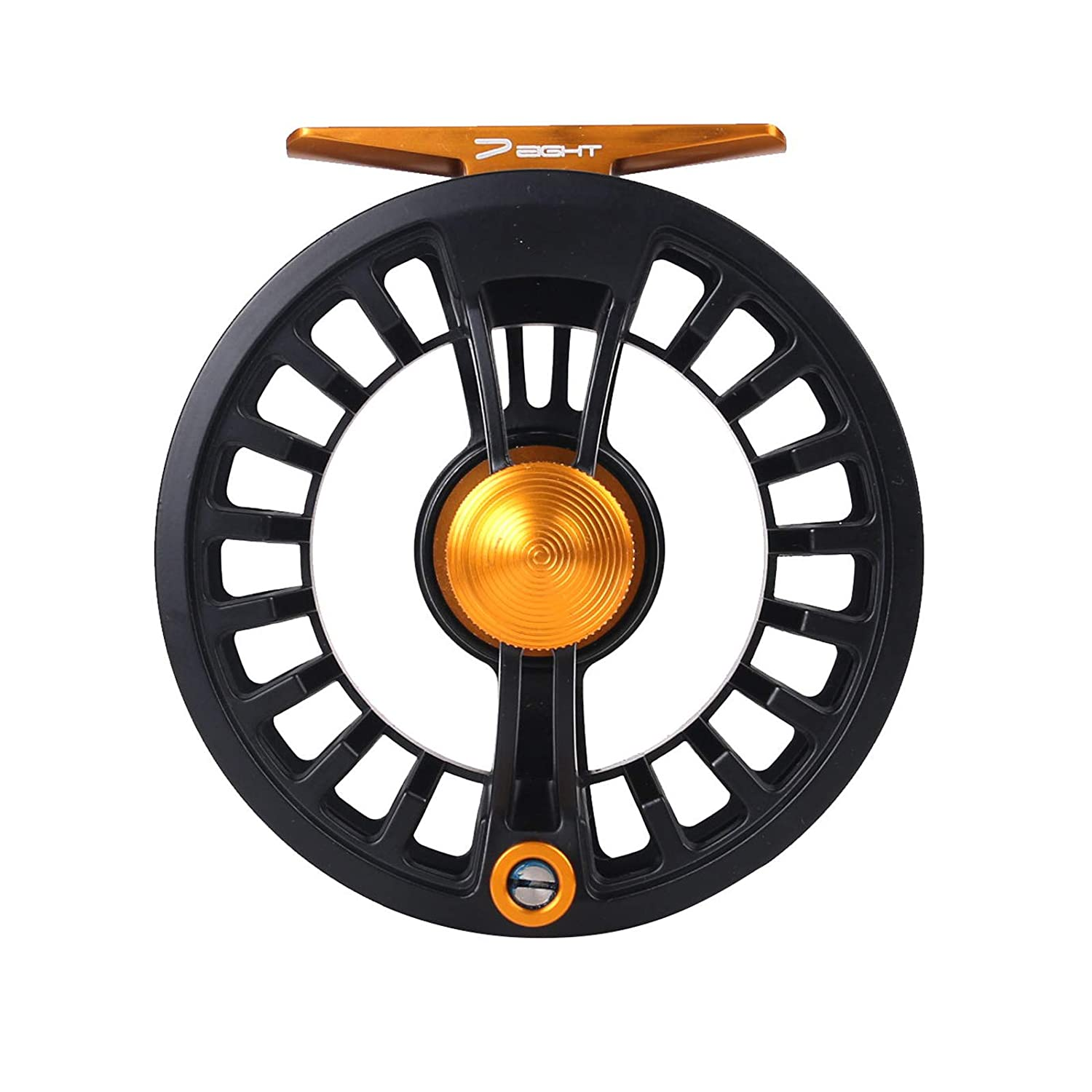 M MAXIMUMCATCH Maxcatch Tail Fly Fishing Reel Waterproof Light Weight Large Arbor Teflon Disc with CNC-machined Aluminum Alloy Body 5 6 7 8wt