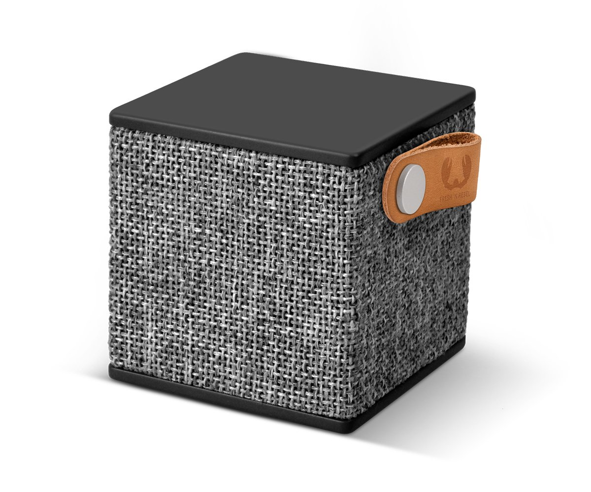 Fresh'N Rebel 156790 - Altavoz portátil con Bluetooth, color negro