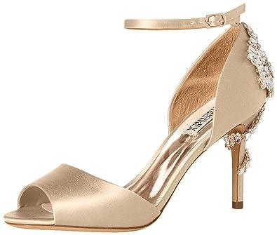 f338b40ed Amazon.com  Badgley Mischka Women s Vienna Heeled Sandal  Shoes