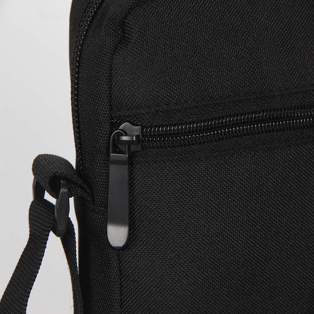 Shark Small Messenger Bag Zip Cross Body Bag Shoulder Bag for Traveling Hiking Camping