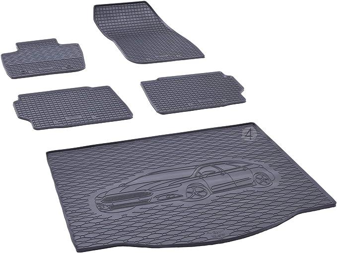 Kofferraumwanne Und Gummifußmatten Passgenau Geeignet Für Ford Mondeo Mk5 Kombi Ab 2014 Farbe Schwarz Gurtschoner Auto