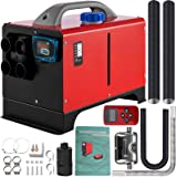 VEVOR Diesel Air Heater, 5KW Mini Parking Heater, 12V Truck Heater, Four Air Outlets, All in One Design, with LCD Switch, Rem