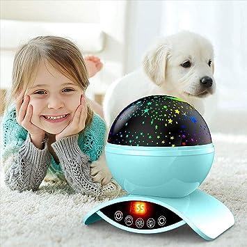 Lámpara de Atmósfera de Luz Nocturna LED Regalo de Los Niños Niño ...