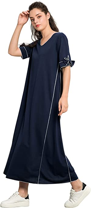 Women Jalabiya Muslim Abaya Long Dress