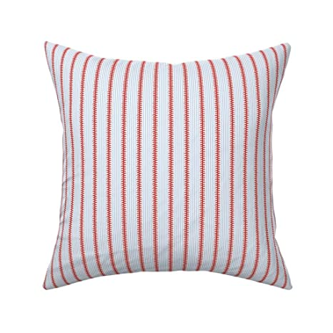 MrRui - Funda de cojín de algodón con diseño de Rayas de ...