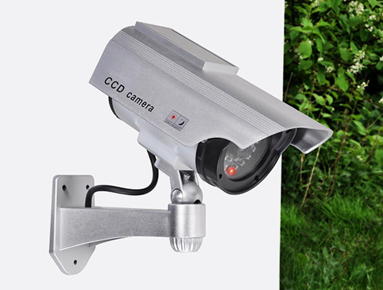 c/ámara de Seguridad con Soporte de Pared com-four/® C/ámara de Seguridad Solar con LED 01 Pieza