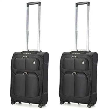 Aerolite Super Lightweight Travel Carry On Cabin Hand Luggage ...