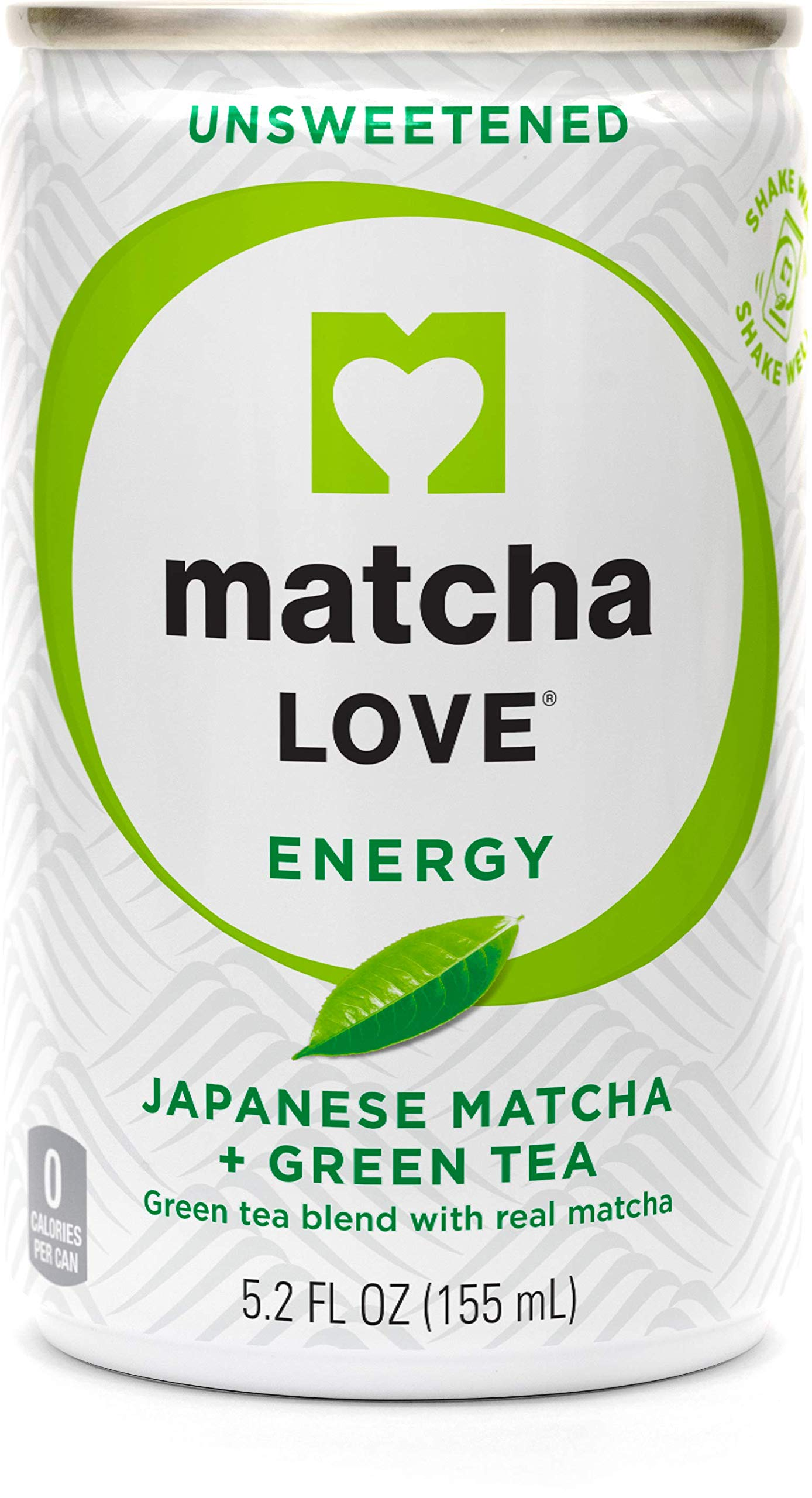Matcha Love Green Tea, Unsweetened, 5.2 Ounce (Pack of 20) by Matcha Love