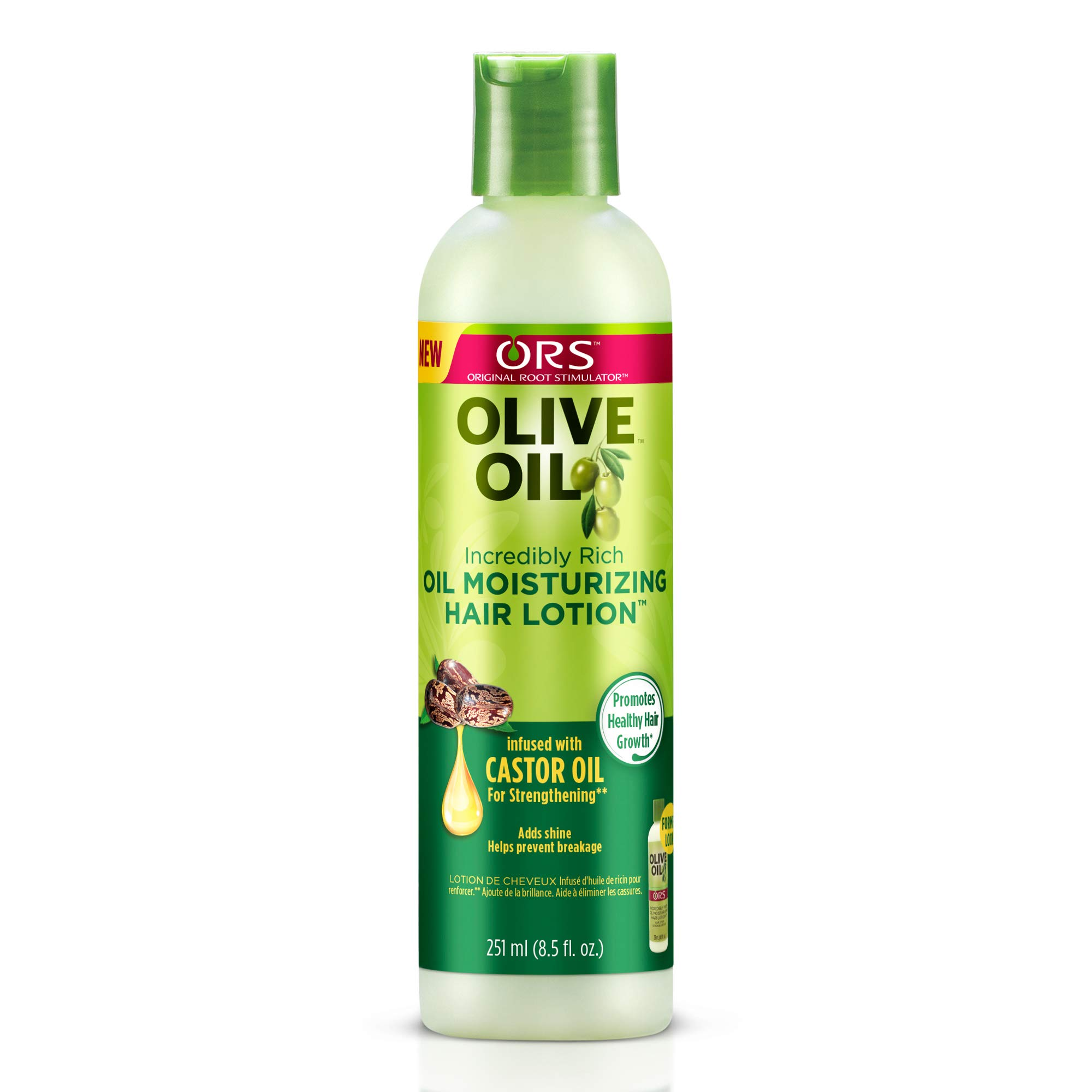 ORS Olive Oil Incredibly Rich Oil Moisturizing Hair Lotion 8.5 oz (Pack of 12) by ORS Olive Oil
