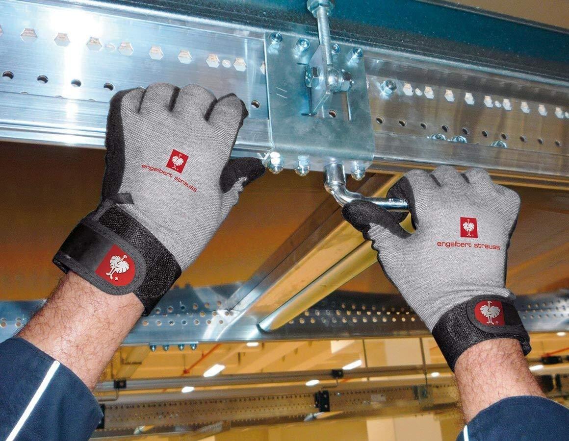 S Engelbert Strauss Vinyl-Strickhandschuhe Handschuhe S-XXL