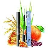 Mascara Noir 95% Bio Hydratant avec des Extraits Organiques de Son de Riz et Grains de Café (USDA certified organic)