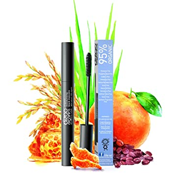 2fdf728d8ce 95% Organic Moisturizing Black Mascara with Organic Extract of Rice Brans  and Coffee Beans