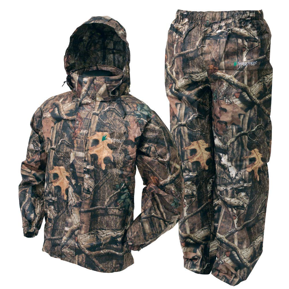 Frogg Toggs All Sport Rain Suit, Mossy Oaks Infinity, Size XXX-Large