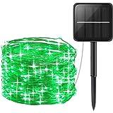 AMIR Solar Powered String Lights, Mini 100 LED Copper Wire Lights, Fairy Lights, Indoor Outdoor Waterproof Solar…
