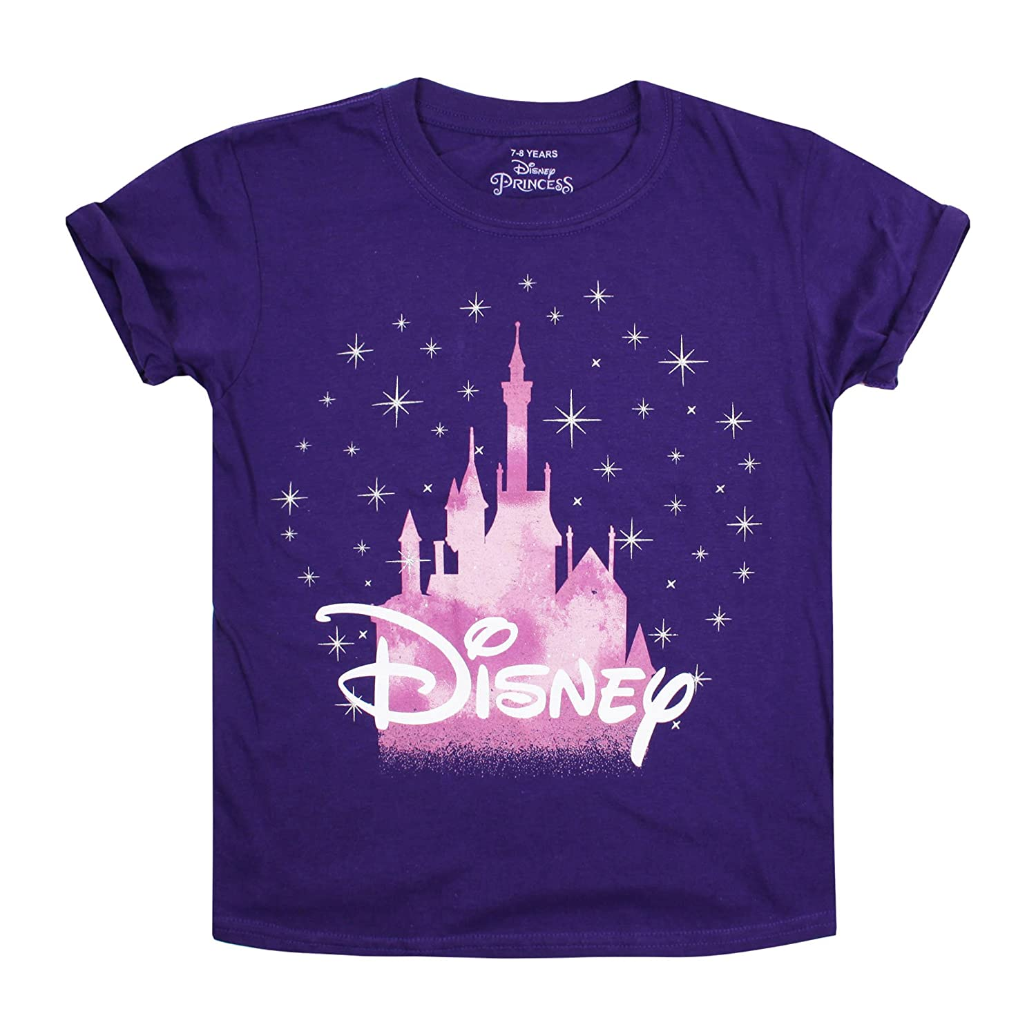 Disney Girl's Castle T-Shirt