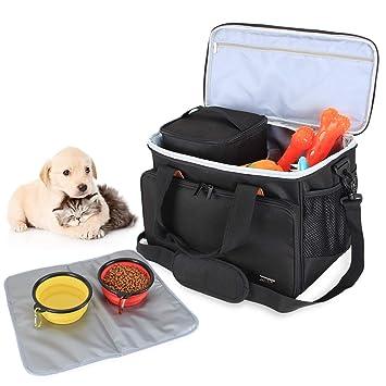 Luxja Bolsa de Viaje para Perros (Contiene 2 Bolsa para ...
