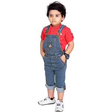 The Cheapest Price Next Baby Boy Girl Denim Look Dungarees With Stars Outfits & Sets